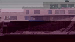 Glitched images - VM-Bjerget