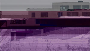 Glitched images - VM-Bjerget
