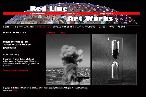 Red Line Art Works - Macro IV