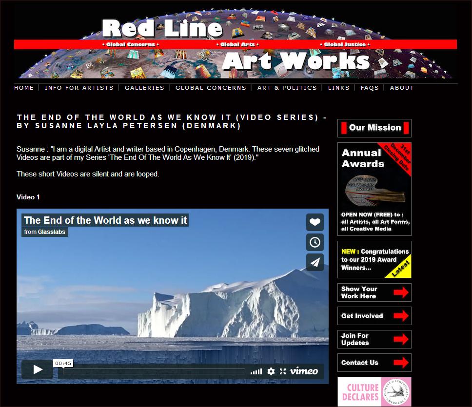 Red Line Art Works gallery screenshot